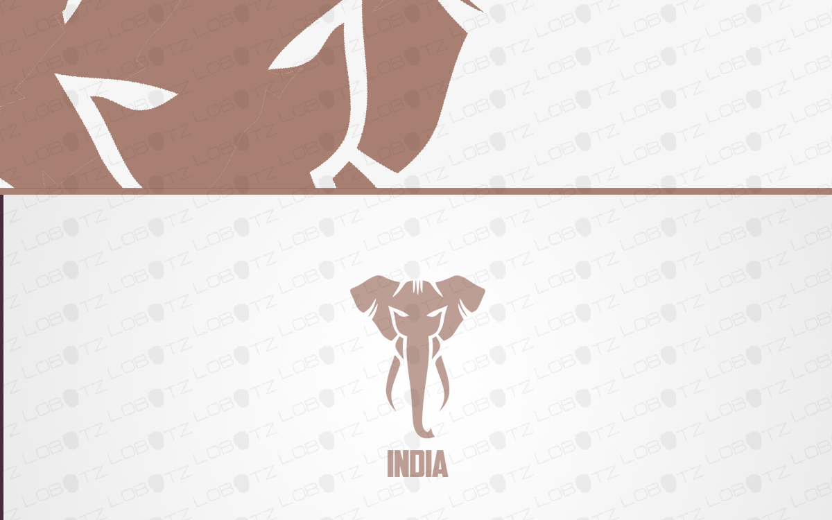 indian elephant logo for sale