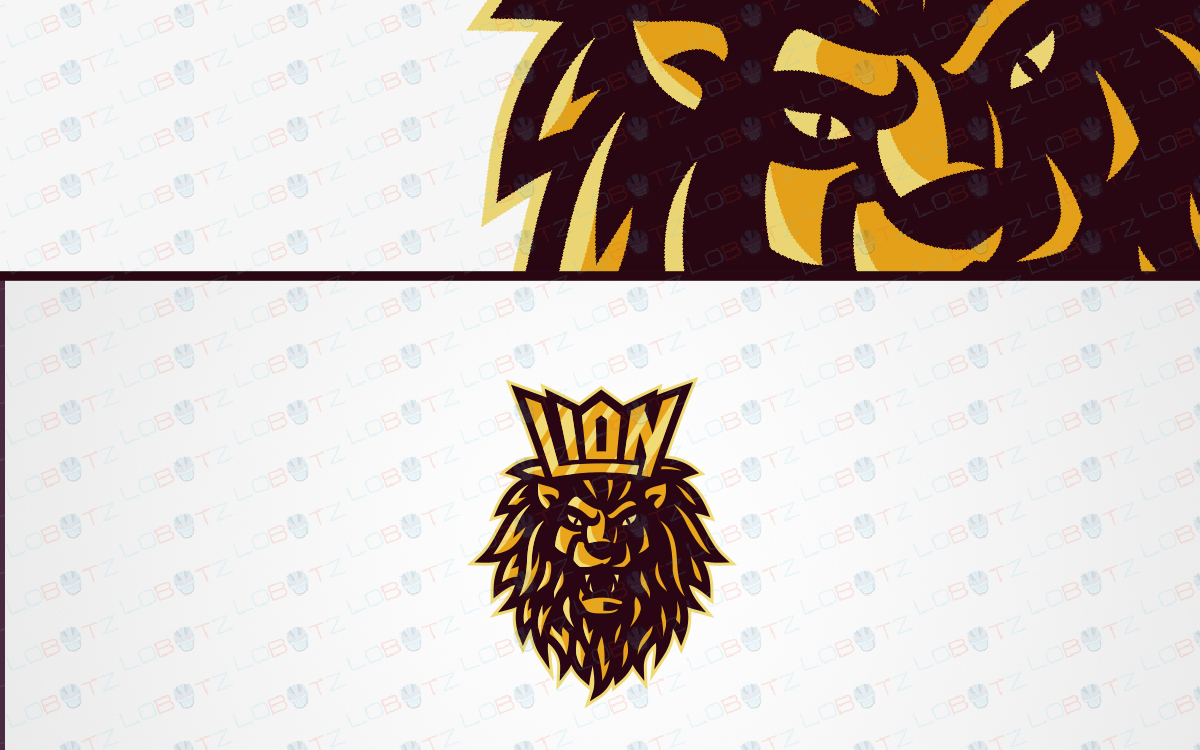 lion esports logo for sale