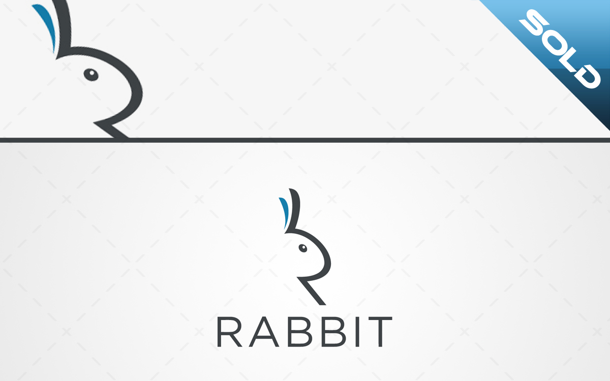 rabbit logo for sale