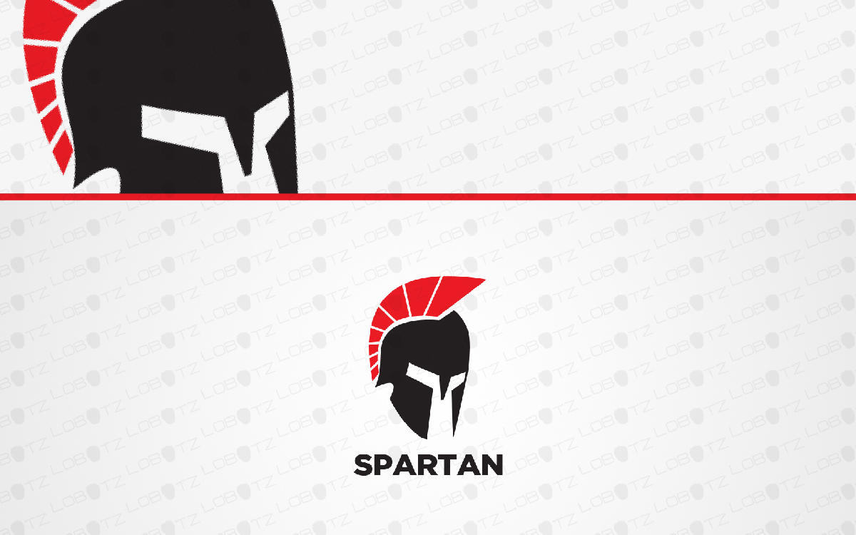spartan head logo for sale