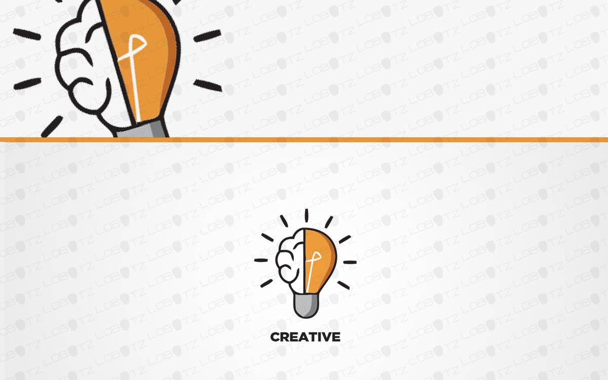 light bulb logo for sale