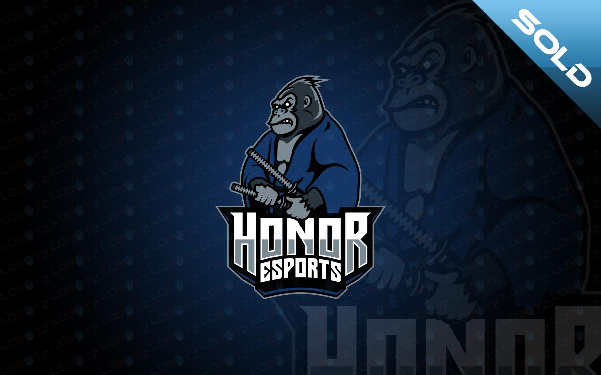 samurai gorilla esports logo