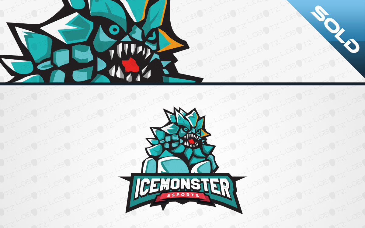 ice monster esports logo for sale
