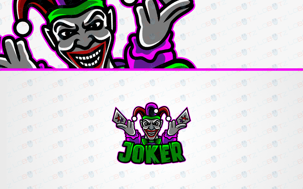joker esports logo for sale