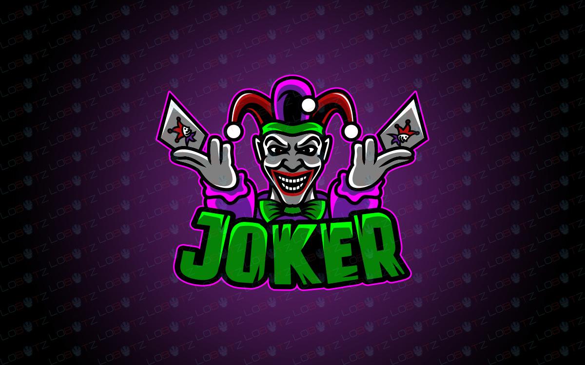 joker esports logo to buy online joker mascot logo for