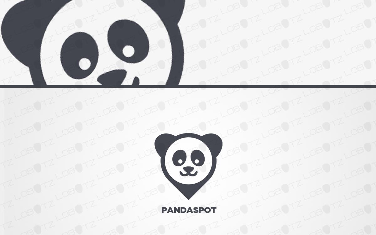panda logo for sale