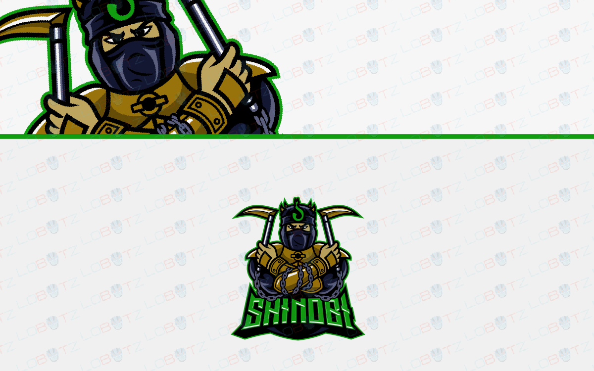 esports shinobi logo for sale