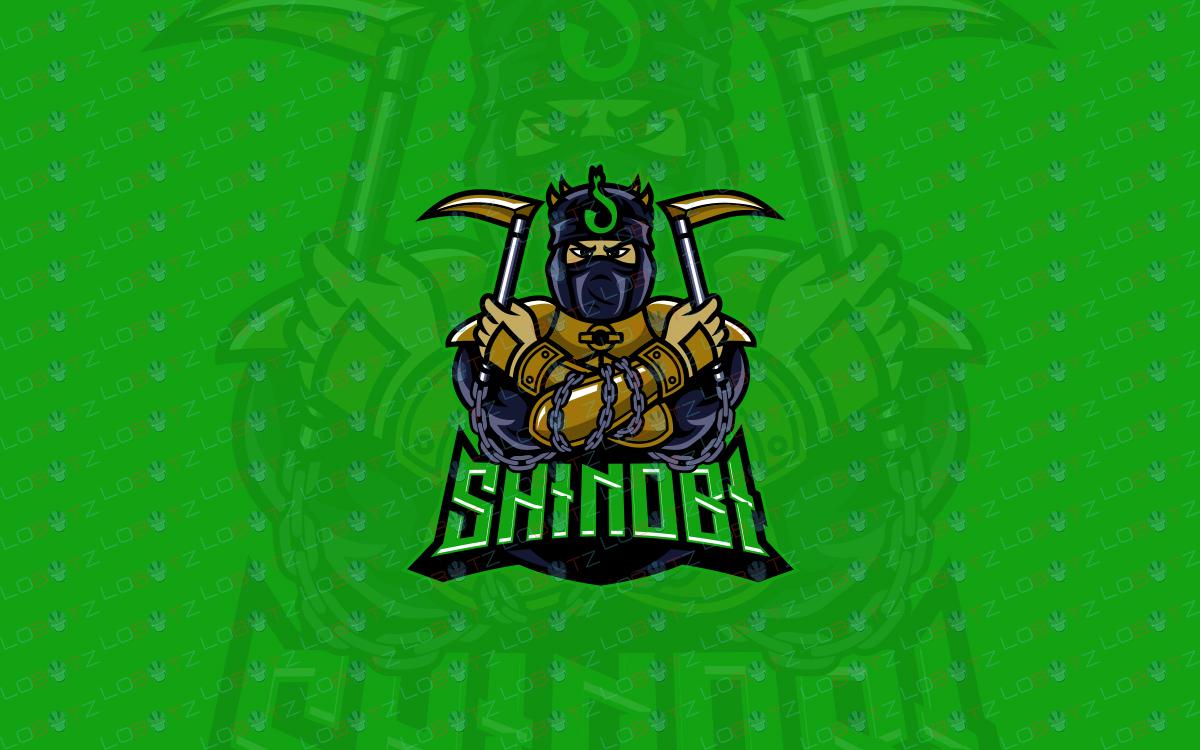 shinobi ninja logo for sale