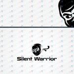 Modern, Trendy & Strong Ninja Logo For Sale