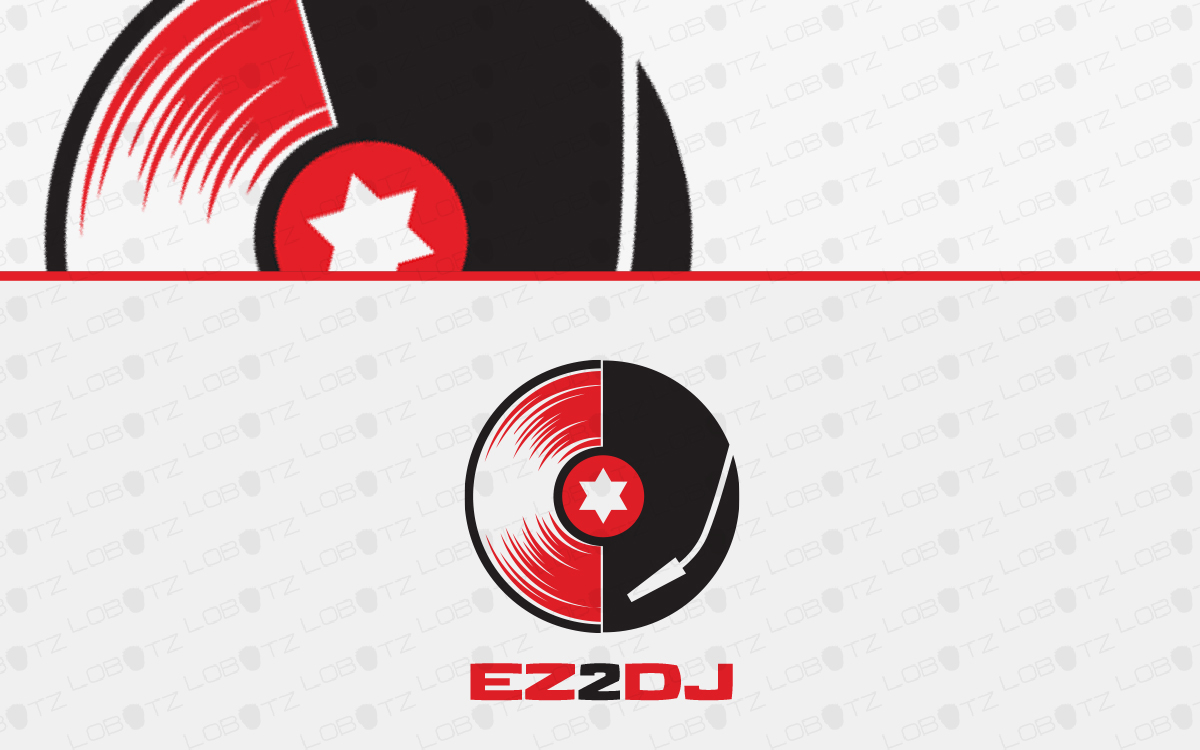 dj logo for sale