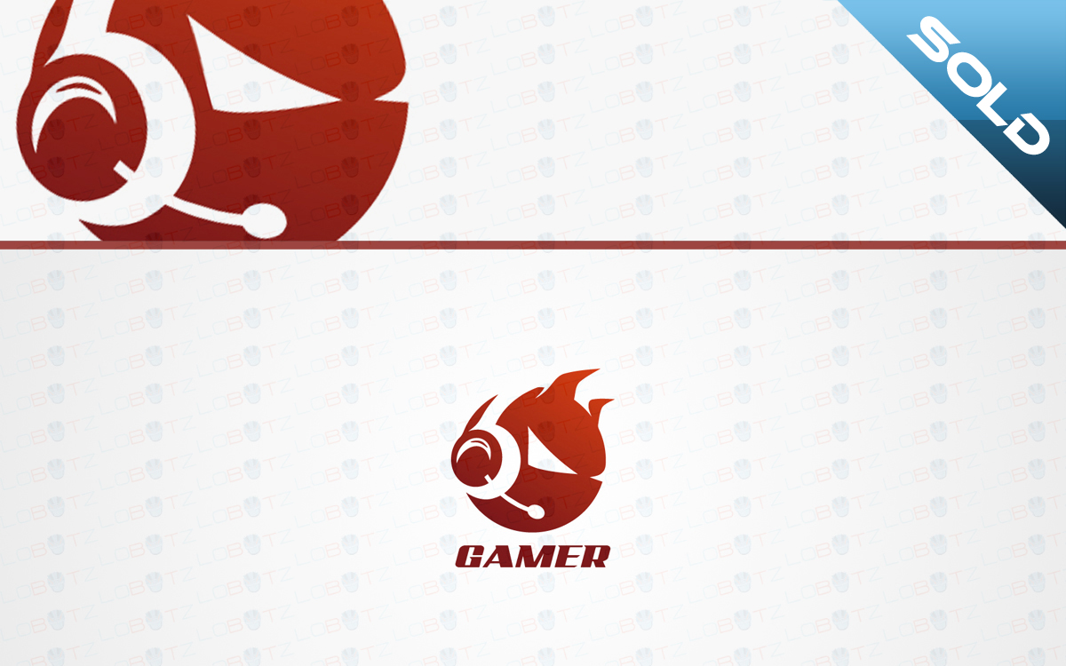 headset gaming logo for sale