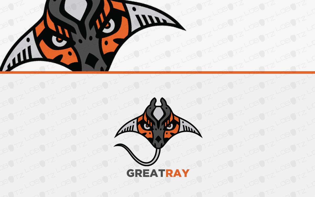 stingray logo for sale