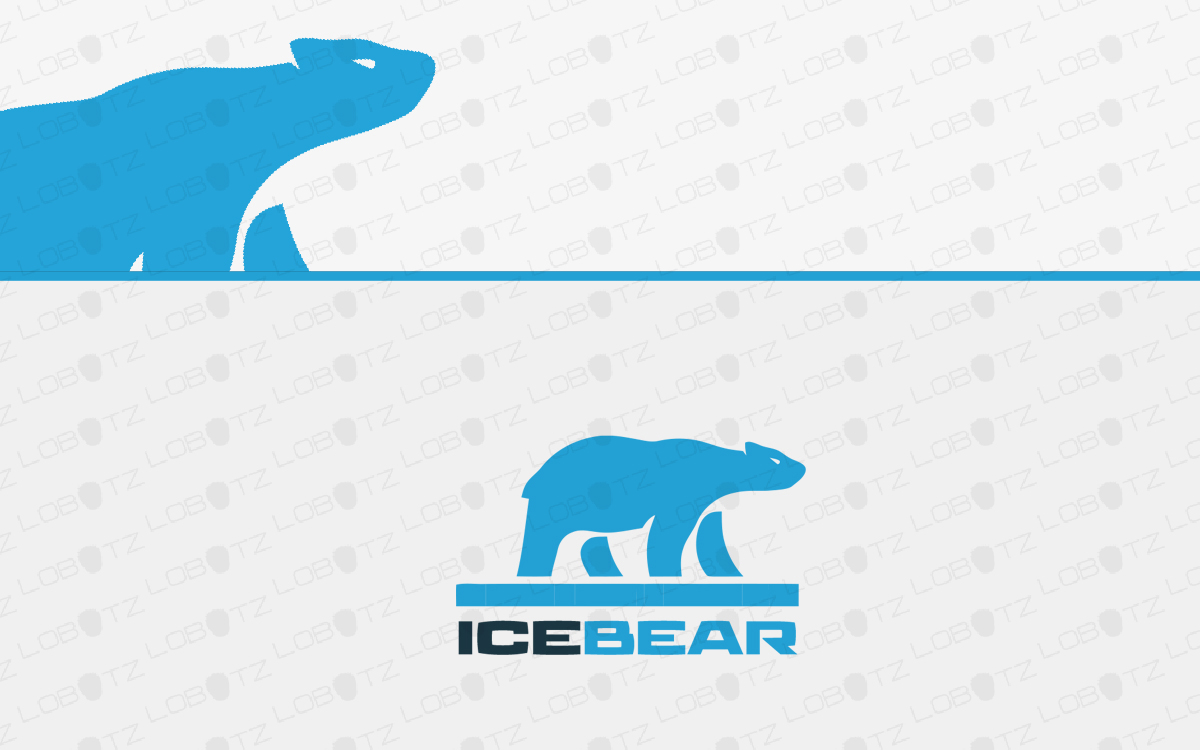 ice bear logo for sale