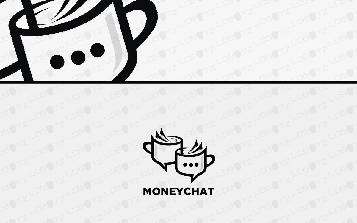 money chat logo for sale