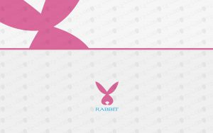 bunny logo for sale