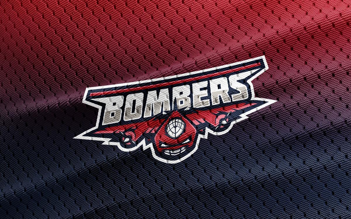 bomber fighter jet mascot logo fighter jet esports logo