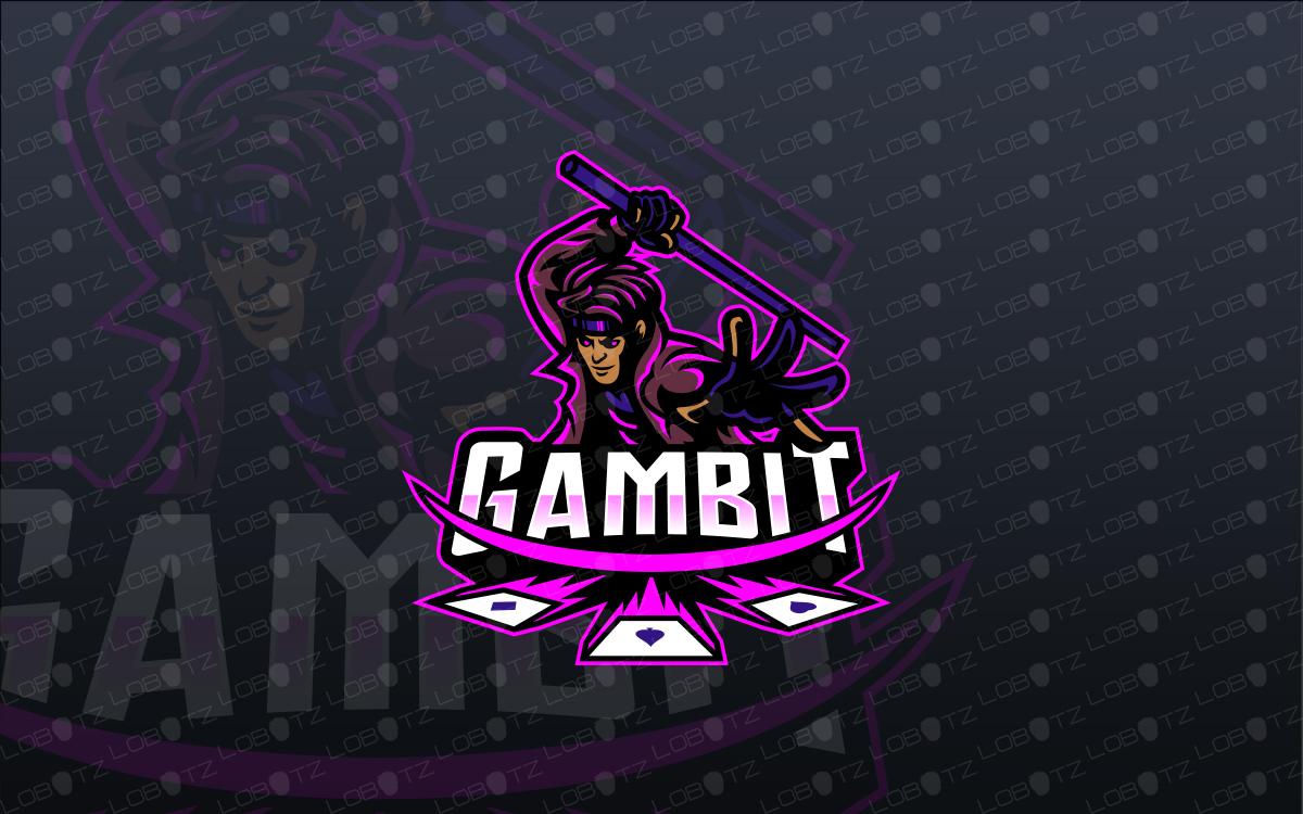 gambit esports logo to buy online gambit mascot logo for