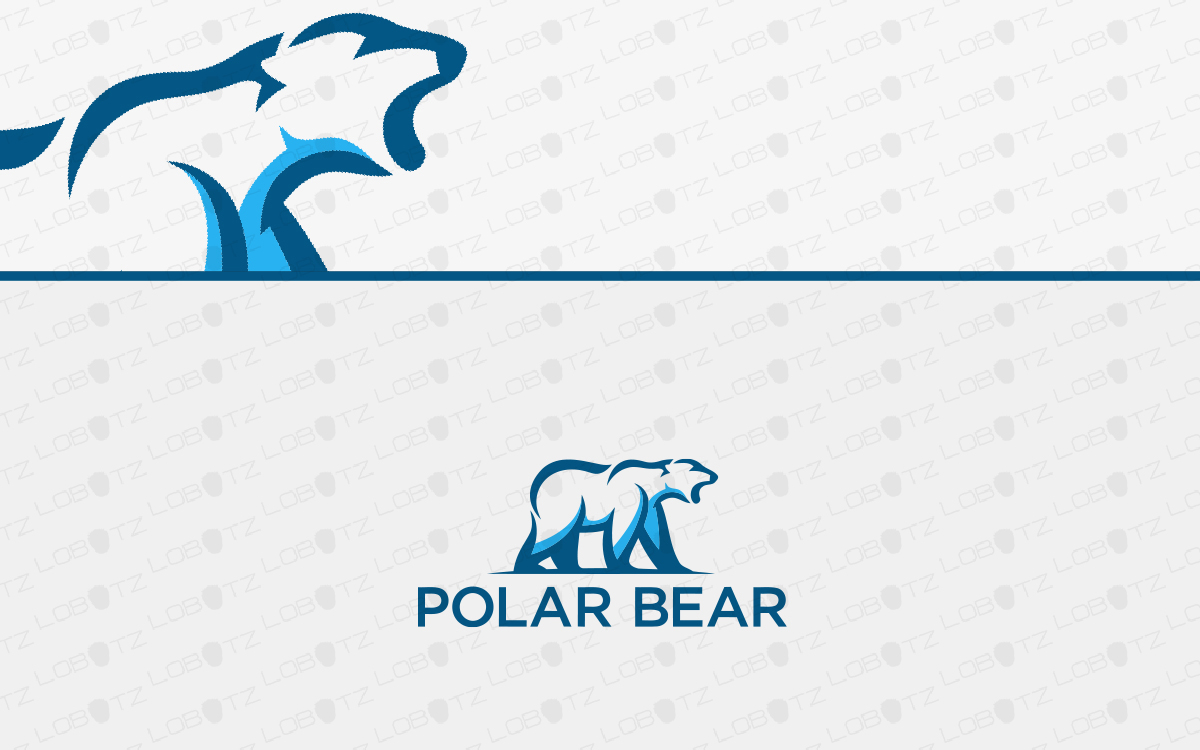 polar bear logo for sale