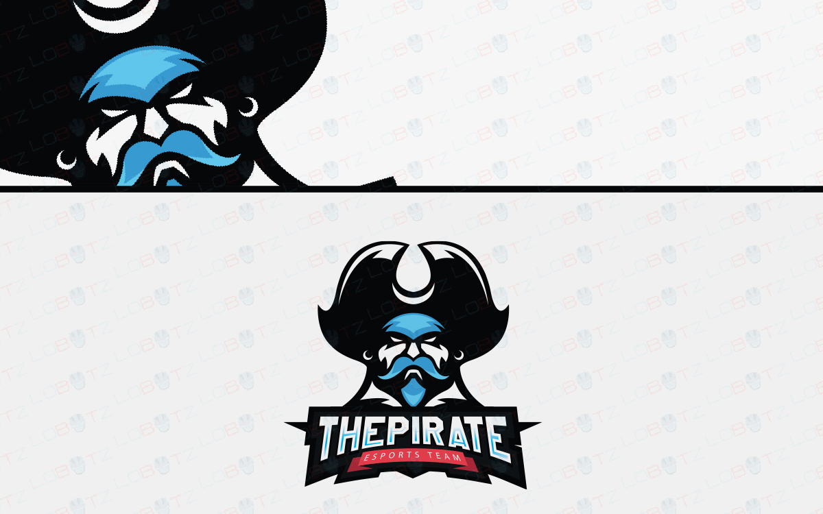pirate esports logo for sale