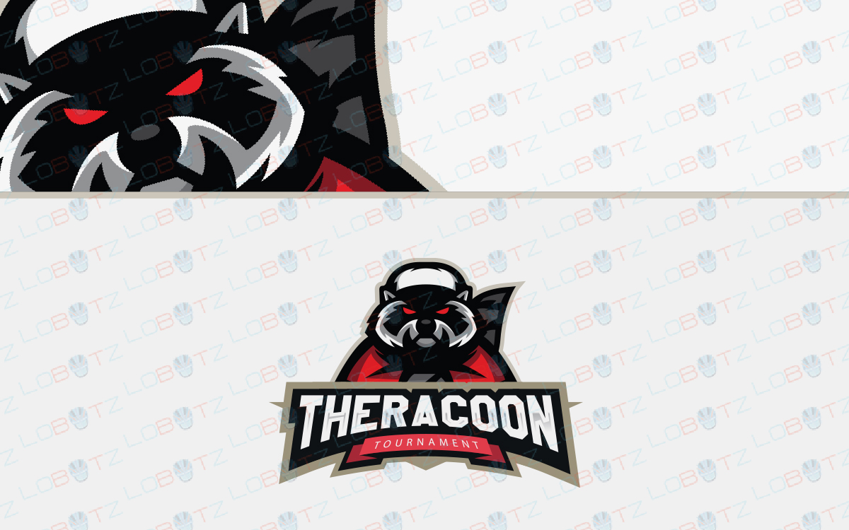 racoon esports logo for sale
