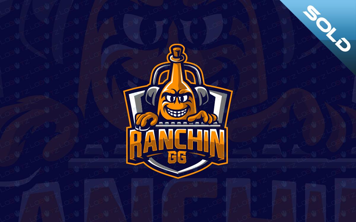 Custom Gaming Logo ranchin gg