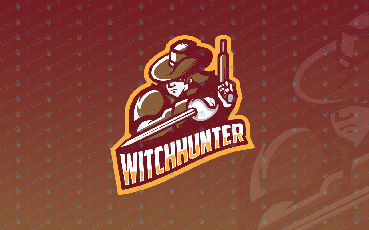 witch hunter logo for sale