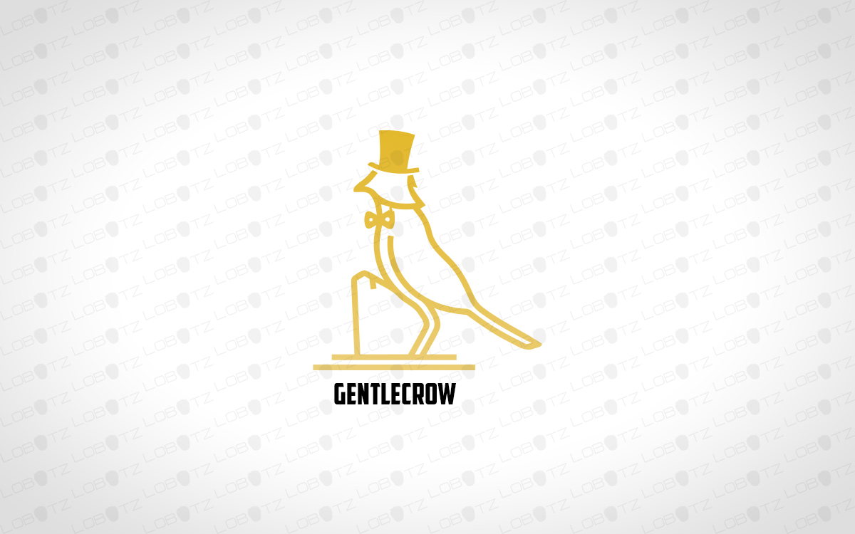 Prestige sophisticated crow logo for sale lobotz readymade logos for sale premade logos for sale sciox Choice Image