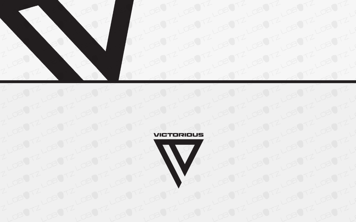 letter v business logo for sale
