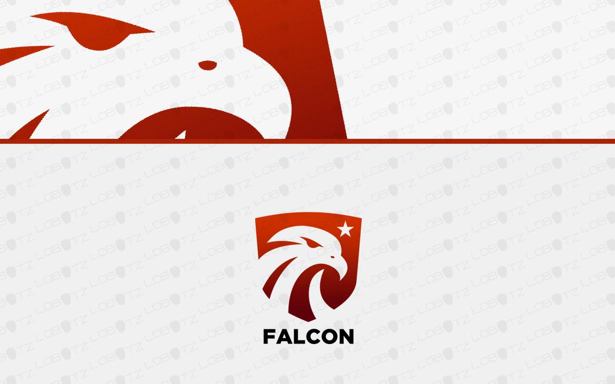 falcon shield logo for sale
