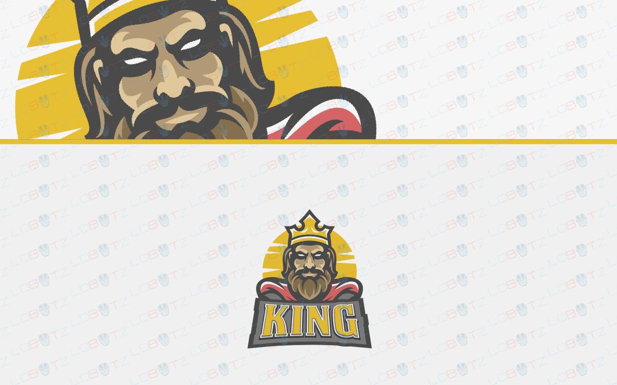 king eSports logo for sale
