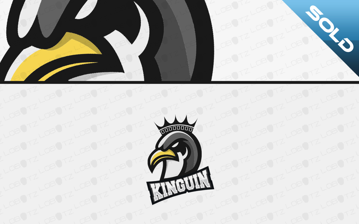 penguin mascot logo for sale