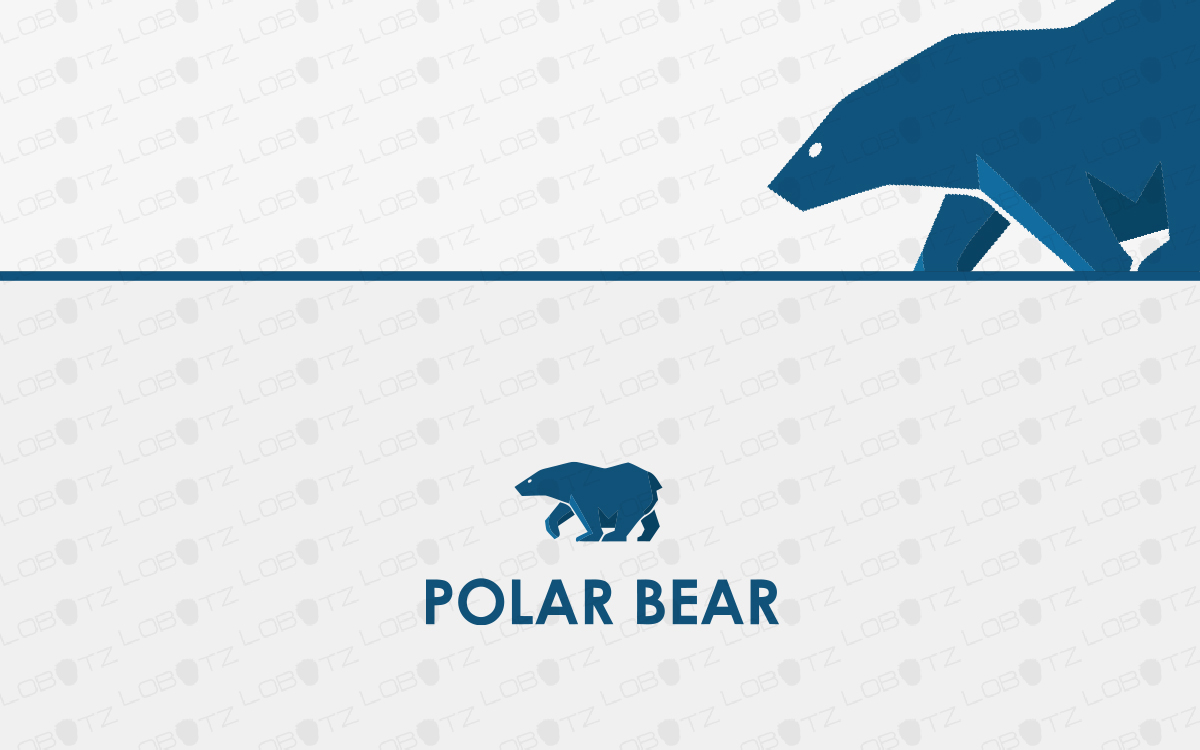 polar bear logo for sale