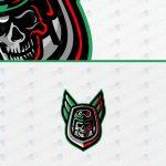 Skull Air Force Soldier eSports Logo | Skull Soldier Logo | Skull Mascot Logo