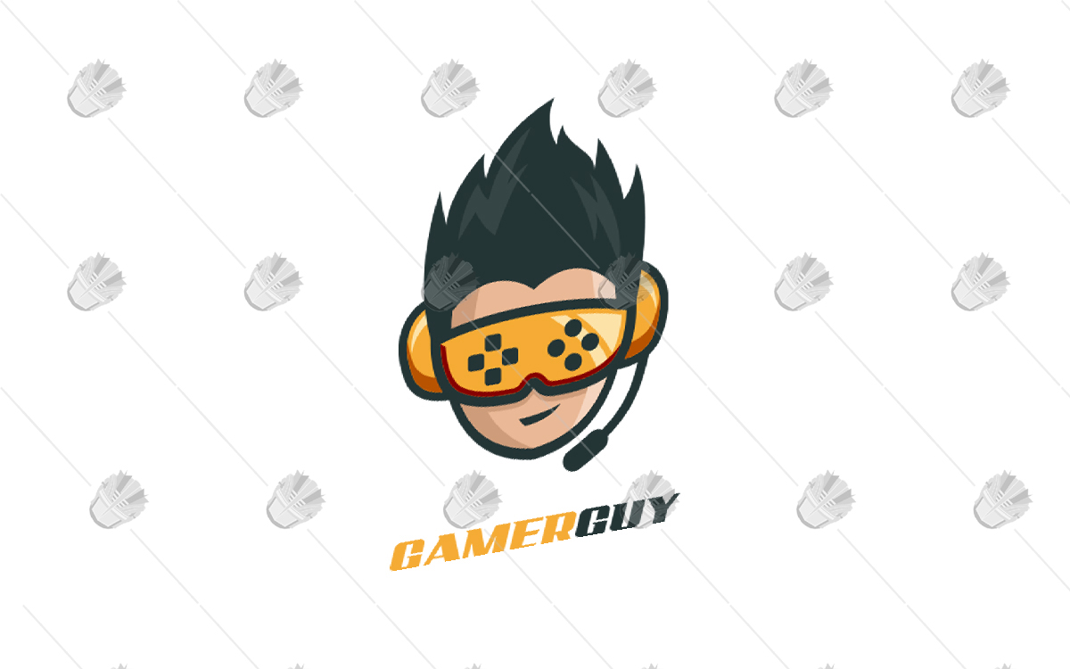 gamer guy gaming logo awesome gamer logo lobotz