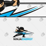 Creative Ninja Logo For Sale | Readymade Ninja Energy Logo