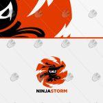 Creative Ninja Logo For Sale | Readymade Ninja Logo