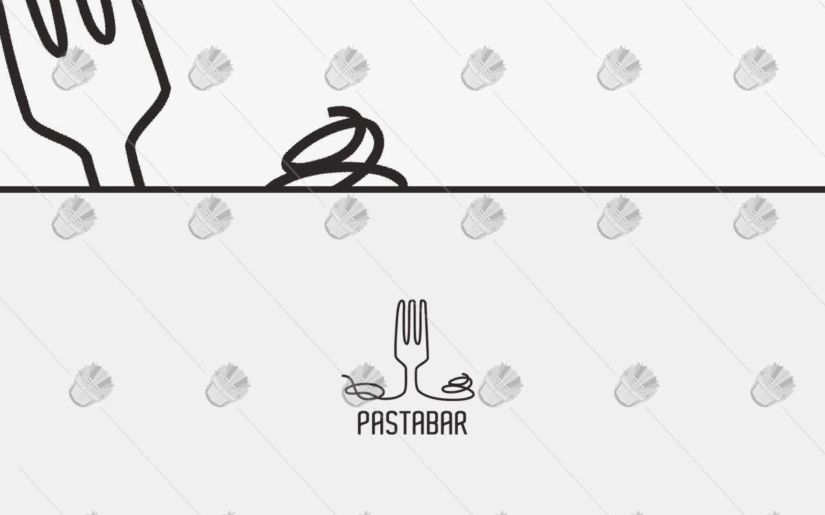 pasta logo pasta food logo