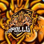 Mythical Apollo eSports Logo   Apollo God Mascot Logo