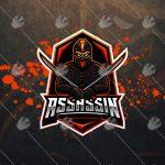 Assassin eSports Logo For Sale | Assassin Mascot Logo