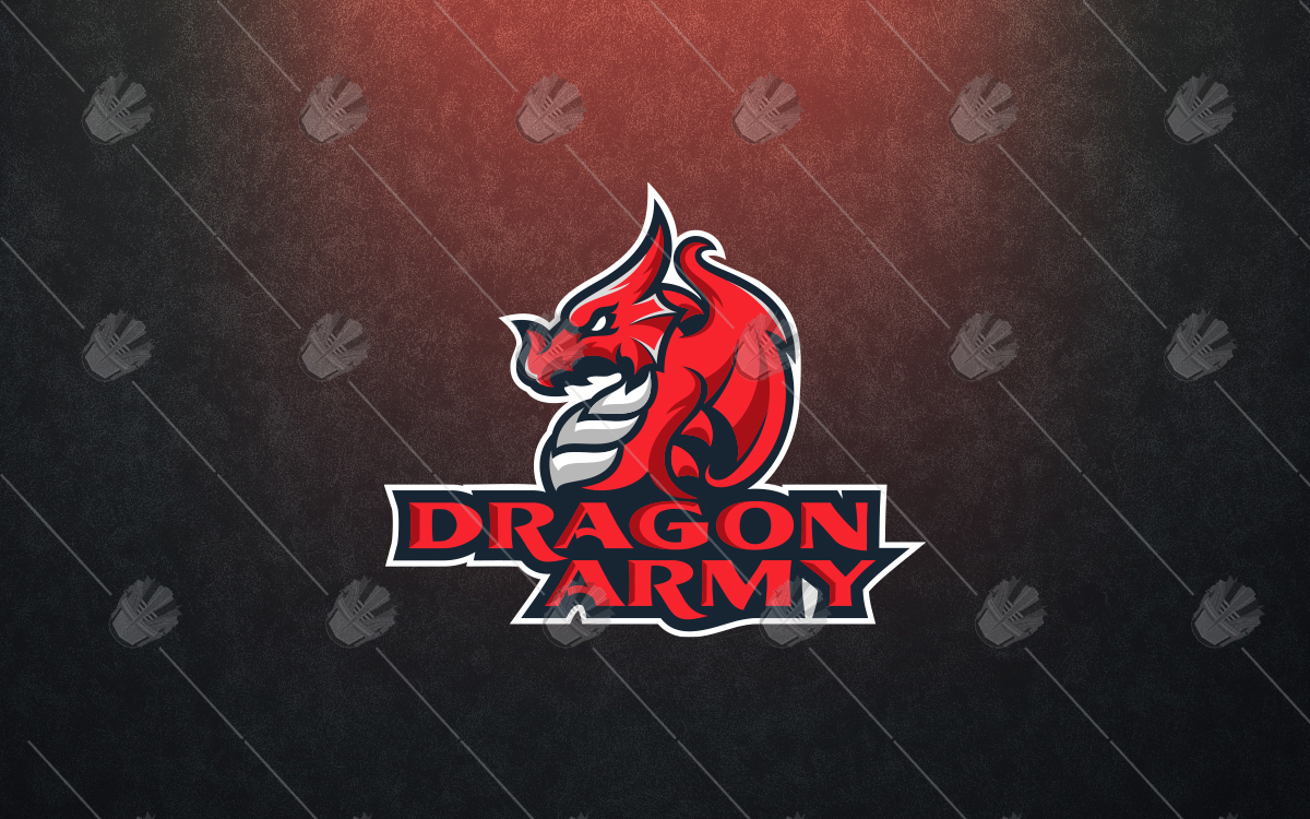 gaming dragon logo for sale