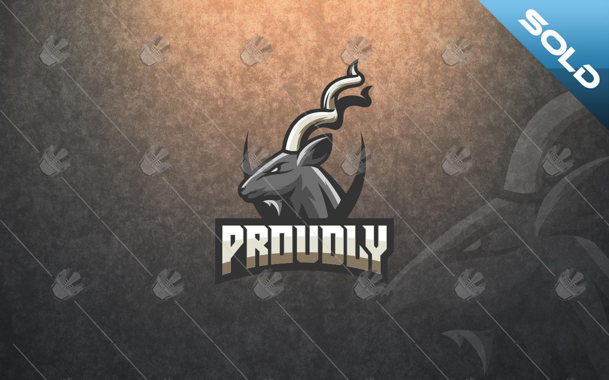 goat mascot logo for sale
