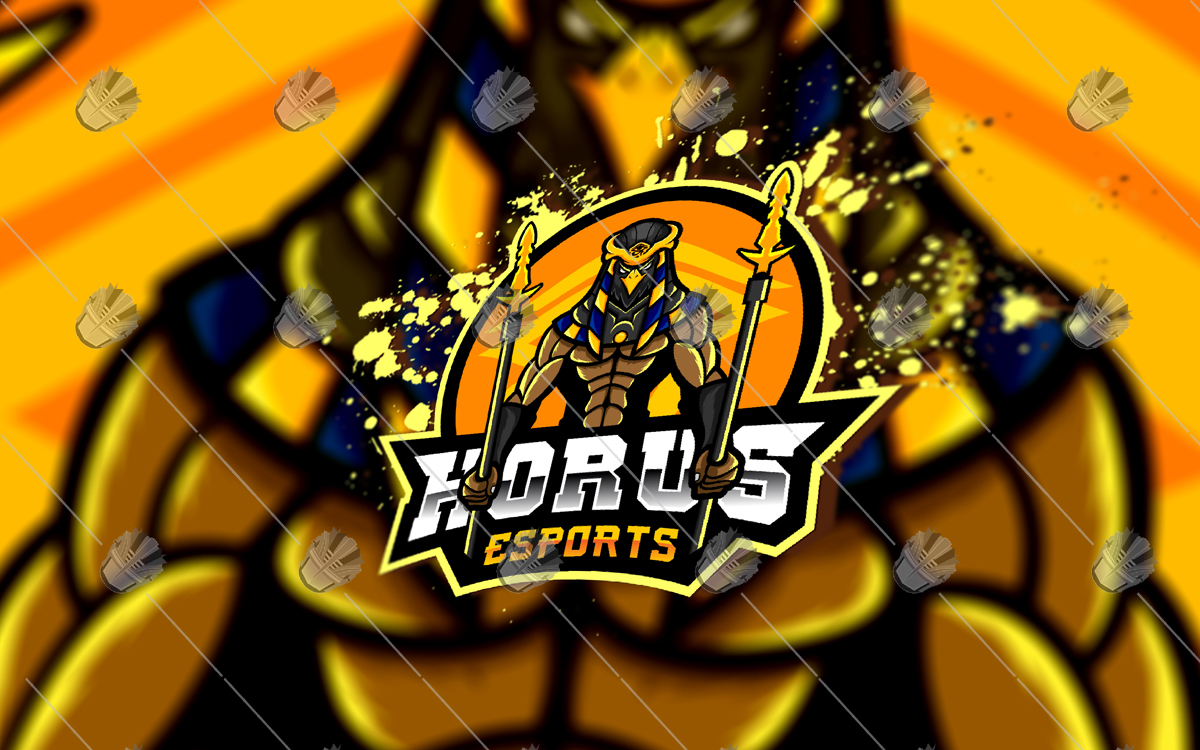 horus esports logo horus mascot logo