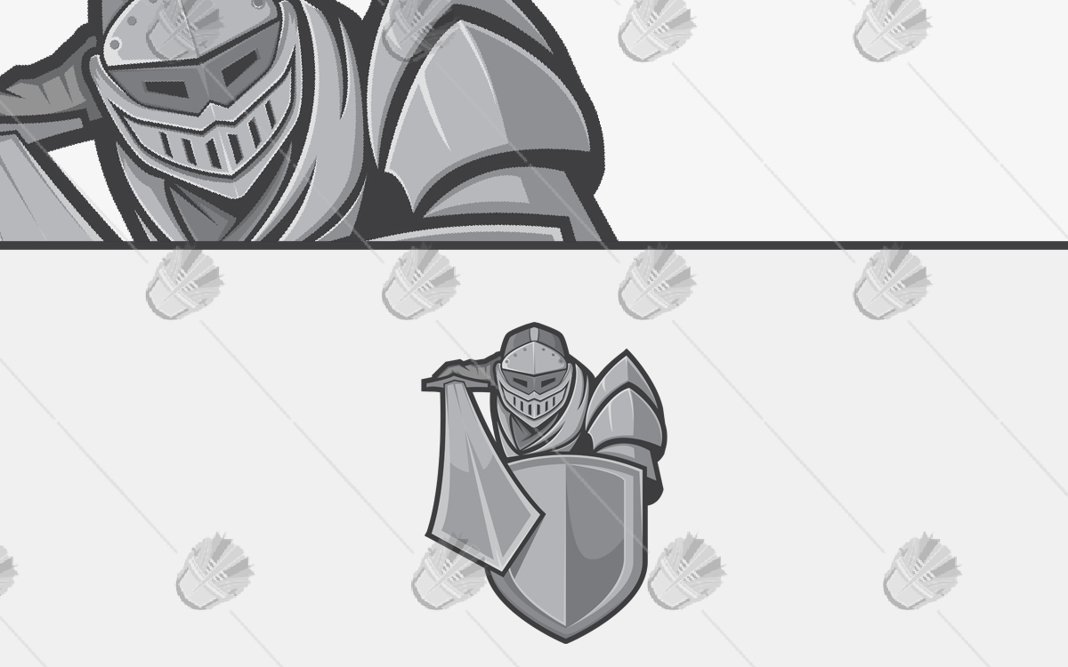 knight mascot logo for sale
