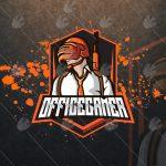 Awesome Office Gamer eSports Logo | Office Gamer Mascot Logo
