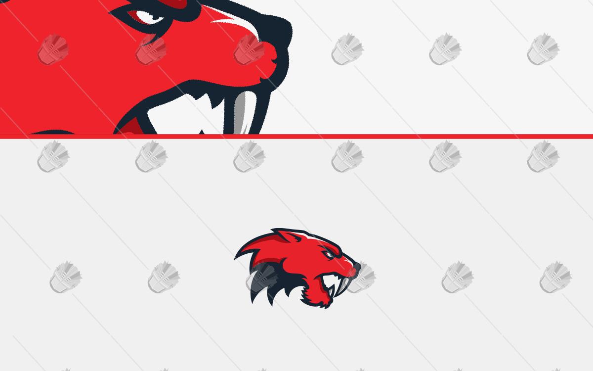 saber tooth tigermascot logo sabertooth esports logo