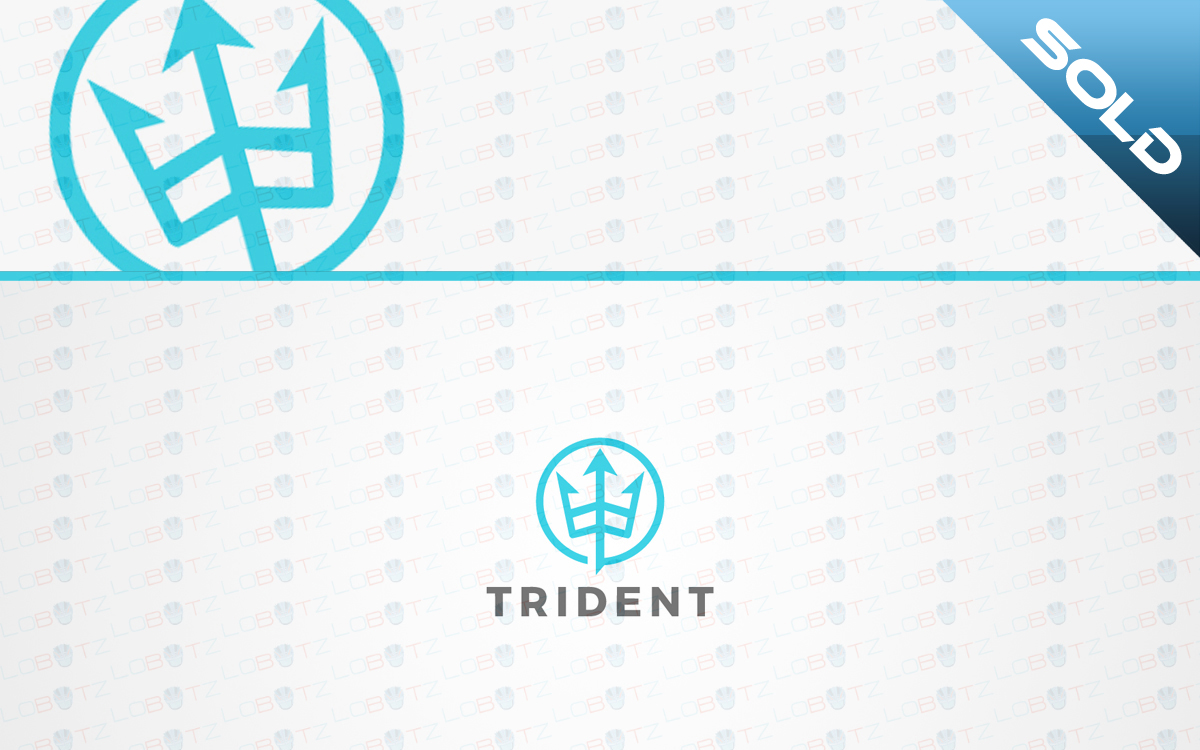 trident logo for sale