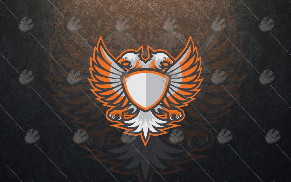 eagle mascot logo for sale