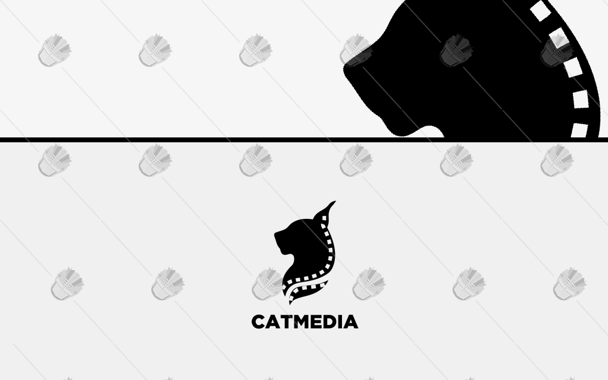 media cat logo for sale