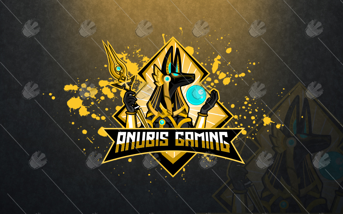 anubis esports logo anubis mascot logo