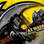 Spectacular Axe Warrior Gaming Mascot Logo | Gaming eSports Logo